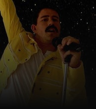 Freddie Mercury Tribute artist photo