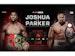 Joshua V Parker: Anthony Joshua MBE, Joseph Parker event picture