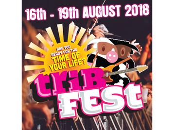 Tribfest 2018: The Four Kicks, The Sensational David Bowie Tribute Band, AC/DC UK, Meet Loaf, Wrong Jovi, Lareena Mitchell - A Tribute To Adele, Green Date, LMX - A Tribute To Little Mix, Lovebites, JD King's Elvis, The Kopycat Killers, The Marley Experience, CODA - A Tribute to Led Zeppelin, The Phonics, Glory Days, The Cavernites, The Bohemians, Revival - A Tribute To ABBA, Mars Live, Mama: An Evening of Genesis, Guns With Roses - A Tribute To Guns N' Roses, Simple Minded picture