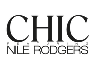 Chic featuring Nile Rodgers artist insignia