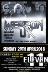 Flyer thumbnail for Weapon UK, Blue Nation