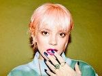 Lily Allen artist photo
