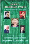 Flyer thumbnail for Mickie's Christmas Party: Mickie Driver, Mike Marandi, Mark Walsh, Kay Carman, Bob Curtis