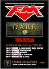 Flyer thumbnail for FM, Dare, Toby Jepson