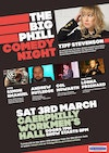 Flyer thumbnail for The Big Phill Comedy Night: Tiffany Stevenson