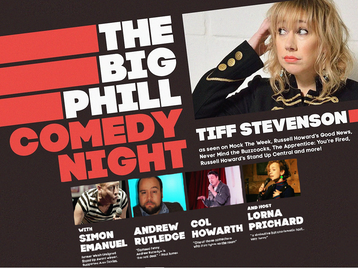 The Big Phill Comedy Night: Tiffany Stevenson picture