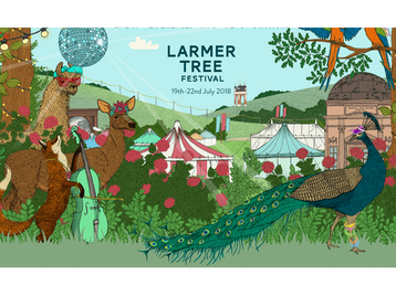 Larmer Tree Festival 2018: First Aid Kit, Jake Bugg, Public Service Broadcasting, tune-yards, Nick Mulvey, Songhoy Blues, Susanne Sundfør, Nadine Shah, The Barr Brothers, Hudson Taylor, Ryley Walker, Let's Eat Grandma, Roo Panes, The Elephant Sessions, Goat Girl, Seamus Fogarty, The Wandering Hearts, Chris Wood, Ider, Naaz, Josienne Clarke, Ben Walker, Barbarossa, Amythyst Kiah, Gina Williams, Guy Ghouse, The Lottery Winners, Steve Knightley, Hlemma, Miss Eaves, Ibibio Sound Machine, Akua Naru, Mt. Joy, Arcade Hearts, Laura Goldthorp, Yazmin Lacey, Feelgood Experiment, Chaouche, Port Erin, Easy Life, AK Patterson, Harvey Causon, Cash Converted, Noah's House Band, Guns of Navarone, The Alleries, DJ Max, We Like To Party DJs, Jasper Fforde, Viv Groskop, Catherine Johnson, Nick Harper, Stand Up & Slam, Living Spit, Intergalactic Circus of Truths, Antipoet, The Brooklyn Healer, The Strolling Magician, Southampton Ukulele Jam, Life Boat, Same Difference, Sara Pascoe, Mark Watson, Dane J Baptiste, Jen Brister, Alice Fraser, Sean McLoughlin, Felicity Ward, Charlie Baker, Rhys Nicholson, Athena Kugblenu, Matt Winning, Evelyn Mok, Gem From CBeebies Swashbuckle, Cerrie Burnell, Dan The Hat, Makeshift Ensemble, The 7 O'Clock Adventure, Kids Storytime, Sense-O-Matic, Tip of the Pops, Mellow Melody, Rock 'n' Roll Riot, Wannabe Street picture