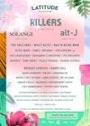 Flyer thumbnail for Latitude Festival 2018: The Killers, Solange, alt-j, Belle & Sebastian, The Vaccines, Wolf Alice, Rag'N'Bone Man, Jessie Ware, The Charlatans, Benjamin Clementine & more