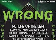 Wrong Festival 2018 artist photo