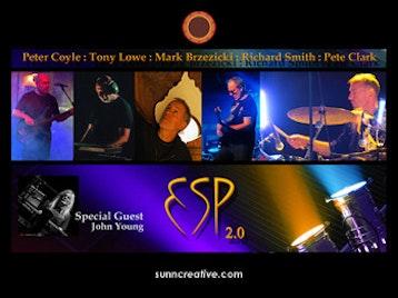 ESP 2.0: Tony Lowe, Mark Brzezicki, Peter Coyle, Richard Smith, Pete Clark artist photo