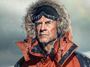 Sir Ranulph Fiennes artist photo