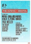 Flyer thumbnail for The Downs Bristol 2018: Noel Gallagher's High Flying Birds, Paul Weller, The Heavy, Khruangbin, Nadine Shah, Dream Wife, Paris Youth Foundation, Orbital, Goldie MBE, Basement Jaxx (DJ Set) & more