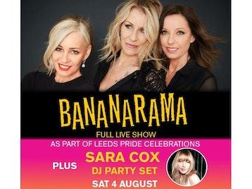 Bananarama, Sara Cox picture