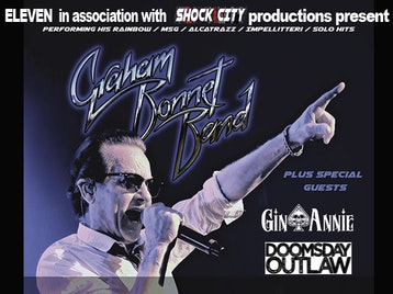Graham Bonnet, Doomsday Outlaw, Gin Annie Band picture