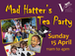 Mad Hatter's Tea Party event picture