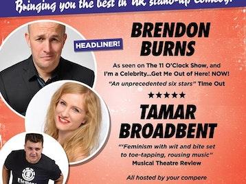 Barnstaple Comedy Club: Tamar Broadbent, Luke Honnoraty, Brendon Burns picture