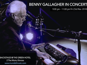 Benny Gallagher artist photo
