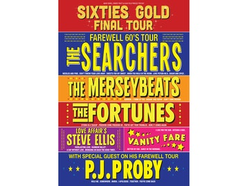 Sixties Gold, Gerry And The Pacemakers, The Searchers, Brian Poole & The Tremeloes, Vanity Fare, Steve Ellis picture