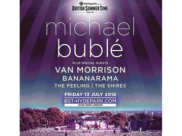 Barclaycard presents British Summer Time Hyde Park 2018: Michael Bublé, Van Morrison, The Feeling, The Shires, Catherine McGrath picture