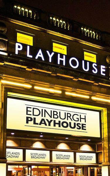 Edinburgh Playhouse Theatre Events