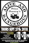 Flyer thumbnail for Brian Downey's Alive And Dangerous