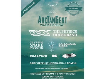 ArcTanGent Warm-up: Gallops, The Physics House Band, The St Pierre Snake Invasion, Jo Quail, Toska, IRK, Sœur, Scalping, The Big Massive Orchestra, Poisonous Birds, Baby Green, Ais.Rhi picture