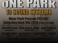 One Park Ten Sound Systems Festival: Dubsmugglers, King Tubby's Sound System, Luv Injection event picture