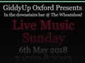 GiddyUp Oxford: The Mighty Cadillacs, Mojo Demon, Purple May event picture