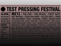 Test Pressing Festival event picture