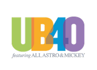 UB40 Featuring Ali Astro and Mickey artist insignia