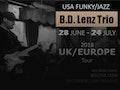 UK Tour '18: B.D. Lenz Trio event picture