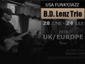 UK Tour '18: B.D. Lenz Trio event picture