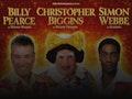 Aladdin: Billy Pearce, Christopher Biggins, Simon Webbe event picture