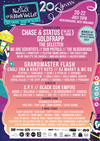 Flyer thumbnail for Nozstock The Hidden Valley 2018: Chase & Status (DJ Set), Goldfrapp, The Selecter, We Are Scientists, Dub Pistols, The Blockheads, Macka B, Honeyfeet, The Electric Swing Circus, The Lovely Eggs & more