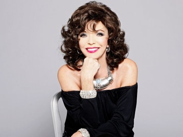 Joan Collins artist photo
