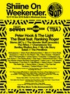 Flyer thumbnail for Shiiine On Weekender: Shed Seven, My Life Story, Salad, Bentley Rhythm Ace, The Primitives, The Darling Buds, Back To The Planet, Collapsed Lung, Ocean Colour Scene, The Beat & more