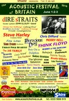 Flyer thumbnail for Acoustic Festival of Britain 2018: Think Floyd, Funke And The Two Tone Baby, Led Zep 2, Tomas Bainbridge, Eric Faulkner, Juzzie Smith, The Nylon Hearts, Sicknote Steve, Sons Of Clogger, Merry Hell & more