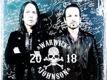 Warwick / Johnson: Ricky Warwick, Damon Johnson picture