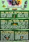 Flyer thumbnail for Sat In A Field Festival: The Doctor (Doctor And The Medics), Flash Harry, Time Travellers, Irie Fire, Burnout-13, Space, Cantaloop, Mohawk Radio, Slackrr, The Weeds & more