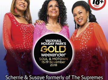 Vauxhall Holiday Park's Soul & Motown Gold Weekender: Groovy Chick, The American Four Tops, Heatwave, Odyssey, Earth Wind For Hire, Scherrie & Susaye formerly of The Supremes picture