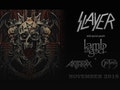 Final World Tour: Slayer, Lamb Of God, Anthrax event picture