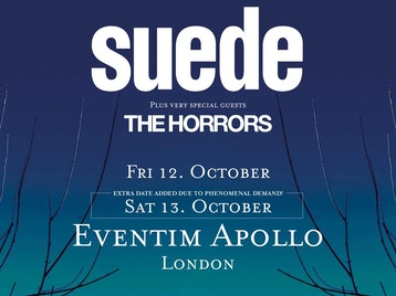 Suede, The Horrors picture