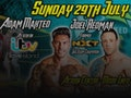 Torquay Supershow feat ITV Love Island Star - Adam Maxted & WWE Joel Redman: Limited Edition Pro-Wrestling event picture