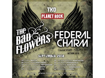 the bad flowers federal charm tickets the live rooms chester