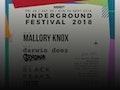 Underground Festival 2018: Mallory Knox, Darwin Deez, Gengahr event picture