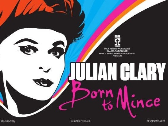 Julian Clary Tour Dates