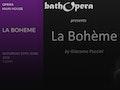 La Boheme: Bath Opera event picture