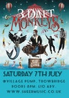 Flyer thumbnail for Sheer Music Present: 3 Daft Monkeys, George Wilding