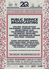 Flyer thumbnail for 2Q Festival Lincoln 2018: Public Service Broadcasting, Albany, Asylums, The Bad Machines, Barefoot, Beans on Toast, Club Kuru, Don't Forget Rupert, Easy Life, Holiday Oscar & more