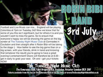 The Tuesday Night Music Club: The Robin Bibi Band picture